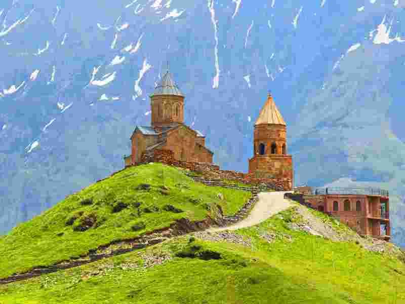 Armenia & Georgia combined